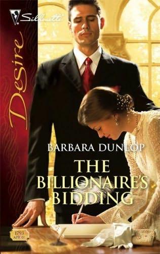 book cover of The Billionaire\'s Bidding