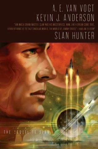 book cover of Slan Hunter