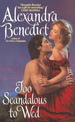 book cover of Too Scandalous to Wed