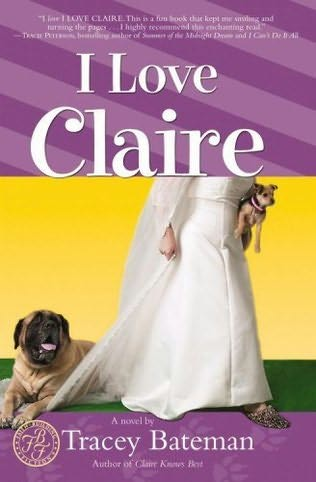 book cover of I Love Claire