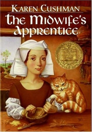 book cover of  The Midwife's Apprentice  by Karen Cushman