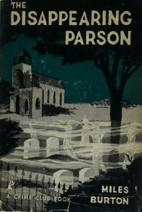 book cover of The Disappearing Parson