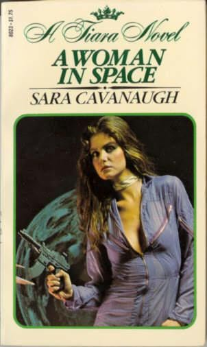 book cover of A Woman In Space