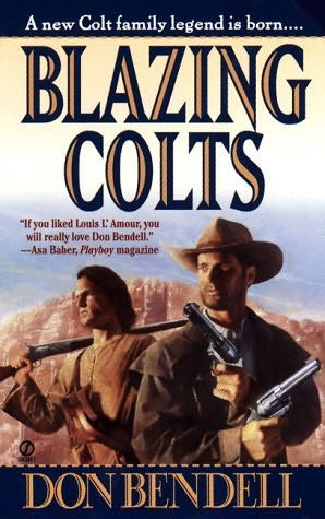 book cover of Blazing Colts
