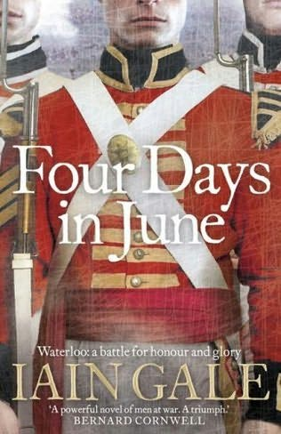 book cover of The Four Days in June