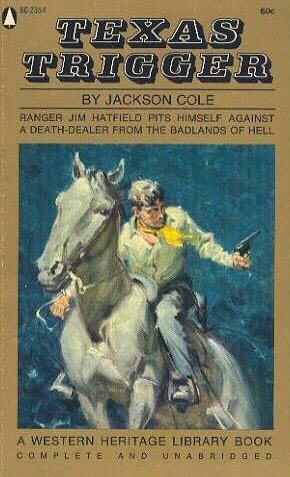 book cover of Texas Trigger