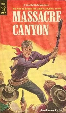 book cover of Massacre Canyon