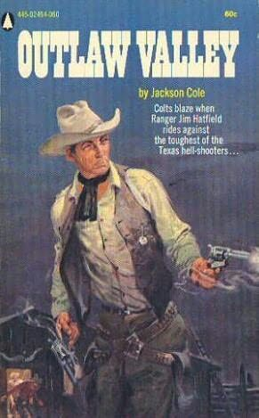 book cover of Outlaw Valley