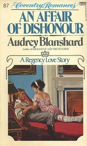 book cover of Affair of Dishonour