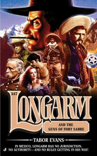 book cover of Longarm and the Guns of Fort Sabre