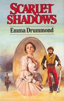 book cover of Scarlet Shadows