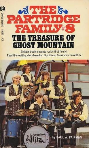 book cover of The Treasure of Ghost Mountain