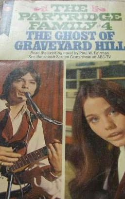 book cover of The Ghost of Graveyard Hill