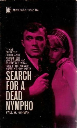book cover of Search for a Dead Nympho
