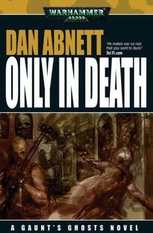 book cover of Only in Death