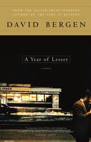 book cover of A Year of Lesser