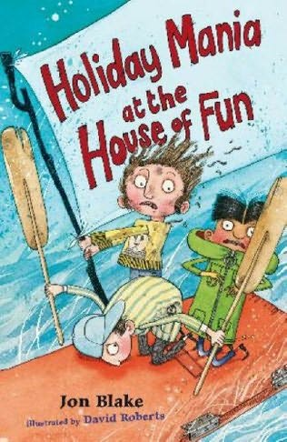 book cover of Holiday Mania At the House of Fun