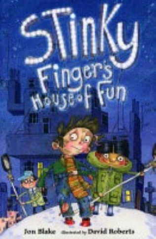 book cover of Stinky Finger\'s House of Fun