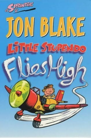 book cover of Little Stupendo Flies High