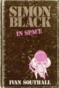 book cover of Simon Black in Space