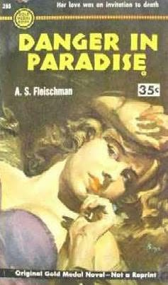 book cover of Danger in Paradise