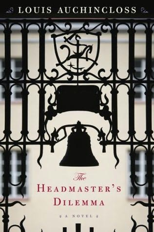 book cover of The Headmaster\'s Dilemma