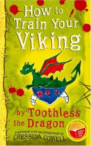 book cover of How to Train Your Viking, by Toothless The Dragon