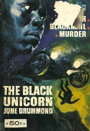 book cover of The Black Unicorn