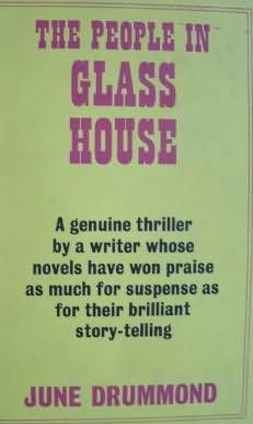 book cover of The People in Glass House