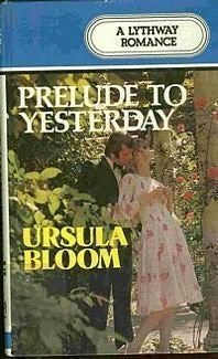 book cover of Prelude to Yesterday