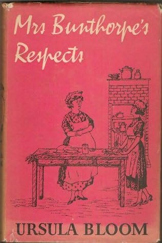 book cover of Mrs. Bunthorpe\'s Respects