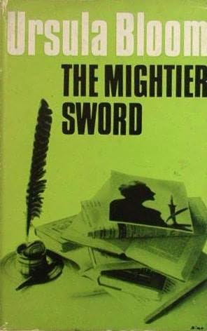 book cover of The Mightier Sword