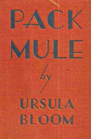 book cover of Pack Mule