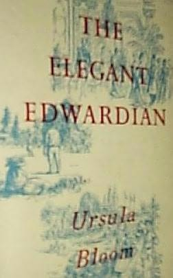 book cover of The Elegant Edwardian