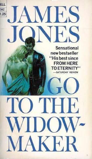 Fantasy Book Cover Maker : Go to the widow maker by james jones