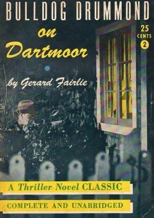 book cover of Bulldog Drummond on Dartmoor