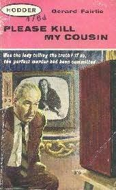 book cover of Please Kill My Cousin