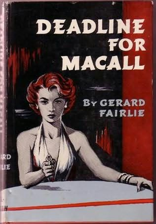book cover of Deadline for Macall