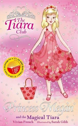 book cover of Princess Megan and the Magical Tiara