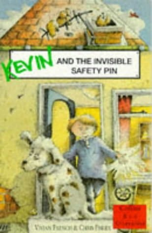book cover of Kevin and the Invisible Safety Pin