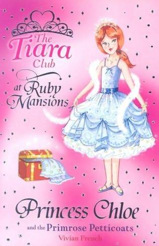 book cover of Princess Chloe and the Primrose Petticoats