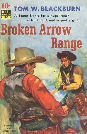 book cover of Broken Arrow Range