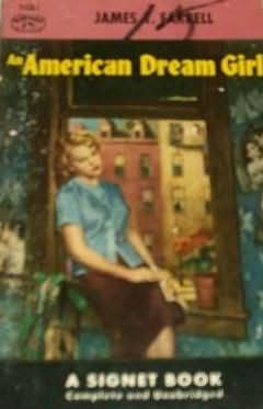 book cover of An American Dream Girl