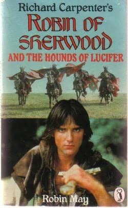 book cover of Robin of Sherwood and the Hounds of Lucifer