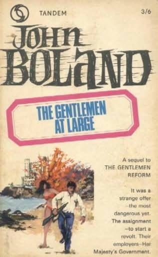 book cover of The Gentlemen At Large
