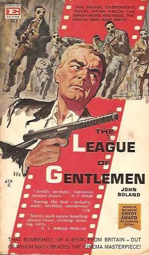 book cover of League of Gentlemen