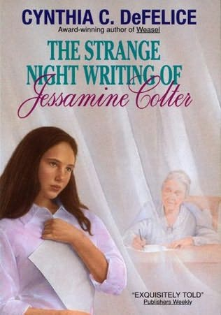 book cover of The Strange Night Writing of Jessamine Colter