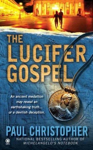book cover of The Lucifer Gospel