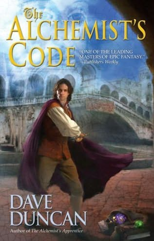 book cover of The Alchemist\'s Code
