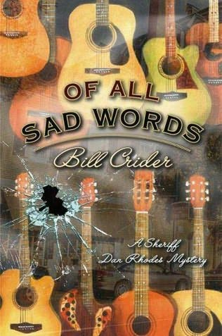 book cover of Of All Sad Words